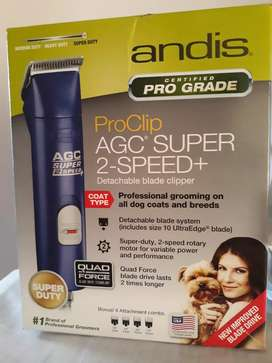 Máquinas Andis Ultra edge AGC2SUPER DUTTY profesionales de peluquería mascotas ¡ Alto rendimiento!