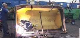 Reconstrucción y ampliación de baldes