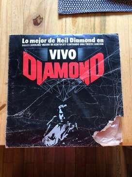 Vinilo de Neil Diamond (1982) - Vivo