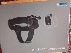 Head Strap + Quickclip para GoPro.