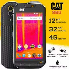 Feria de celulares cat desde 429 s41 s60 Armor únicos  golpes agua  polvo