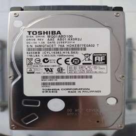 """DISCO DURO SATA TOSHIBA 1 TB 2.5"""" PULGADAS PS3 PLAY 3 PLAYSTATION 3 PS4 PLAY 4 PLAYSTATION 4 XBOX 360 XBOX ONE PROMOCIÓN"""
