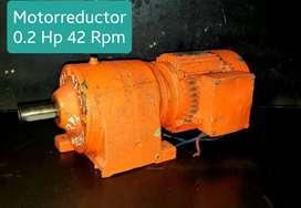 0.2 HP MOTORREDUCTOR PIÑONERIA SEW