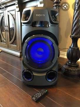 TORRE O EQUIPO SONY ÚLTIMA GENERACIÓN CON BLUETOOTH NFC RADIO DVD CD USB OPTICO LUCES LED MUY POTENTE NUEVO GARANTÍA