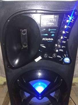 Columna Kioto $5000 Bluetooth USB mp3 radio