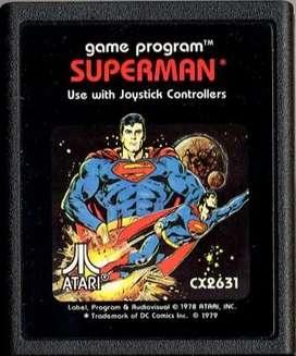 Juego Original Atari 2600 Superman Cx2631 100% Funcionando