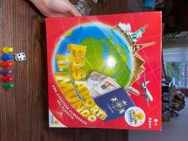 Juego pasaporte al mundo sin uso