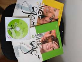 2 libros ( alter ego +)  para aprendizaje de francés
