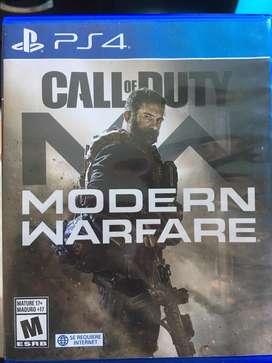 Call of duty moderm warfare ps4