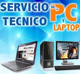 Servicios Tecnicos de Laptons Y Pc.