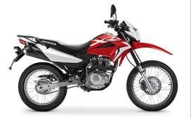 Honda XR 150 0km c/Cuotas fijas 100% Financiado con DNI!!