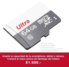 MicroSD 64gb - Memoria para celular/tablet - SanDisk