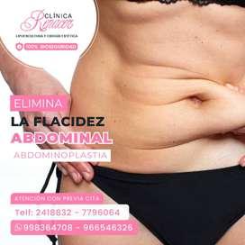 Elimina la flacidez abdominal