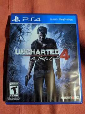 Uncharted PS4 usado