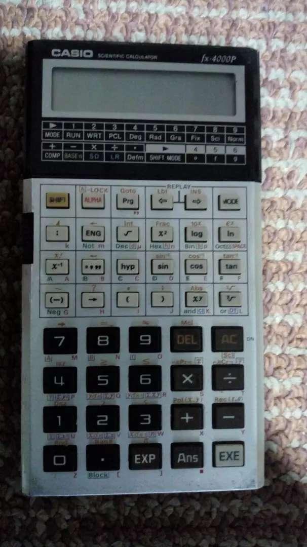 Calculadora Científica Casio Vintage 0