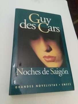 Noches de Saigon . Guy Des Cars . Libro Novela EMECE 1996