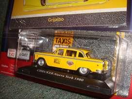 Colección Taxis del Mundo, Checker 1980, Nueva York N2 Completo