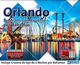 TOUR A ORLANDO