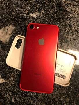 Iphone 7 Red Edition. 128gb, EXCELENTE ESTADO. Solo 3 meses de uso.