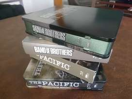 Band of brothers y The Pacific en blu ray