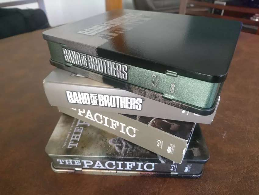 Band of brothers y The Pacific en blu ray 0