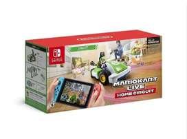 Mario Kart Live: Home Circuit Luigi Set Edition Nintendo Switch Físico