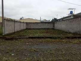 Vendo bonito terreno con cerramiento listo para construir en 14.000 dólares