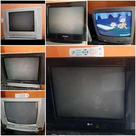 Televisores de 21 pulgadas diferentes marcas y estilos, pregunta por el de tu interés