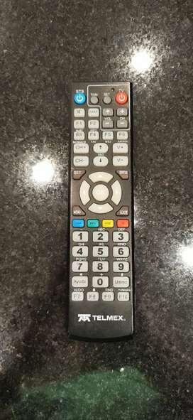Control remoto para decodificador claro telmex