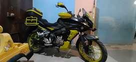 Moto pulsar as 150cc