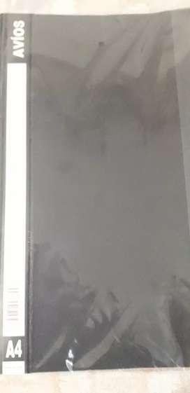 Carpetas  transparente  A4