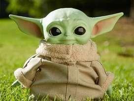 BEBE YODA THE CHILD Baby de 28cm Star Wars Mandalorian Disney Mattel