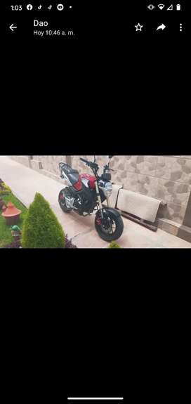 Vendo moto Ranger 2021