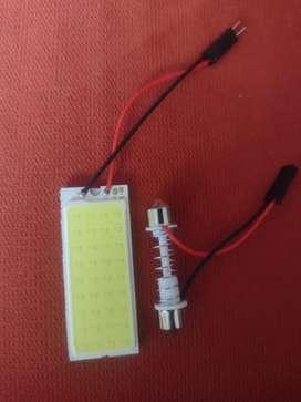 Luces LED interior carro