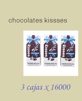 Chocolates kissses