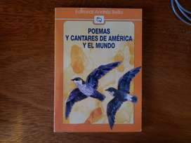 Libro Poemas Y Cantares De America Y El Mundo Andres Bello