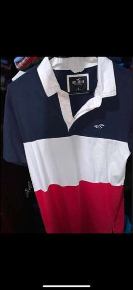 Polo Hollister talla S y playera Fox originales