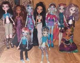 Muñecas Originales Monster High