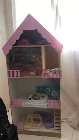 Vemdo casita para muñecas