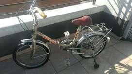 bicicleta plegable rodado 16 michela