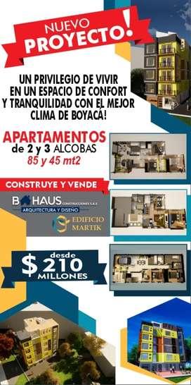 Vendo apartamentos sobre planos barrio portales del rio