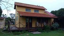 Alquilo cabaña Mar Chiquita, a 2 cuadras del mar