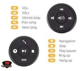 Control de volante compatible con varios modelos de autoradios