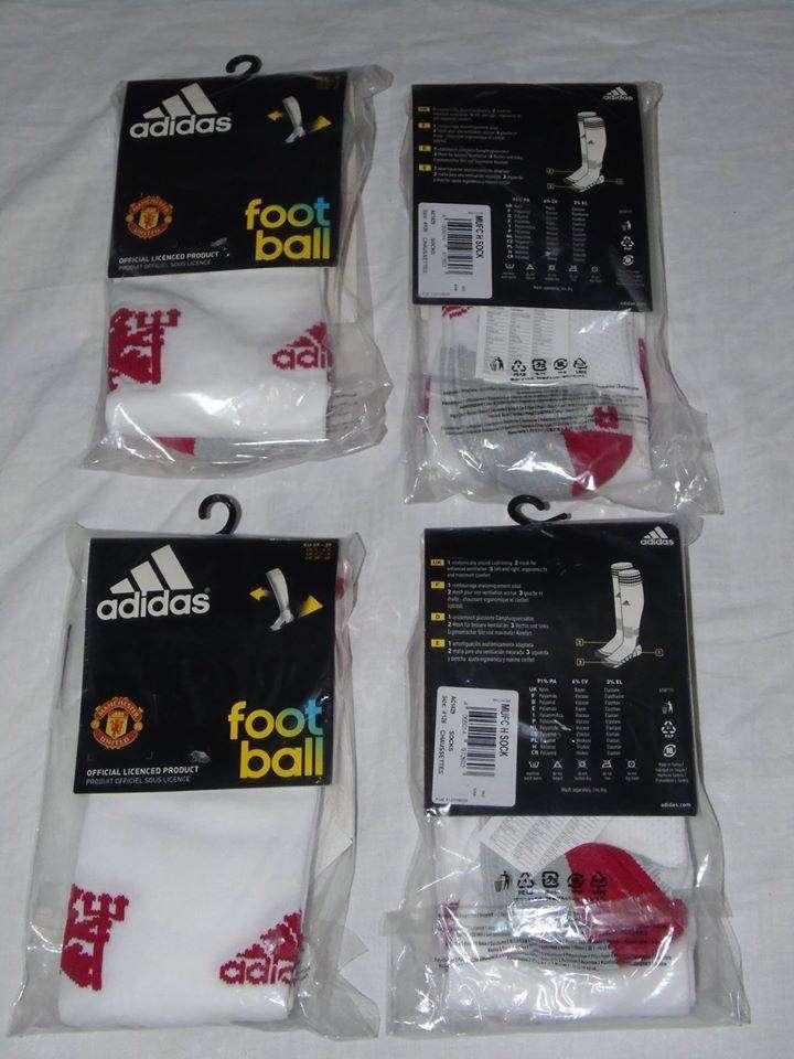 Par de medias oficiales del Manchester United - Marca Adidas (Nuevas, originales) 0