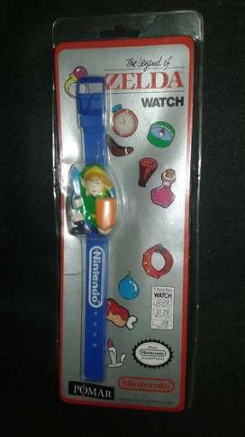 Reloj lcd Nintendo legend of zelda nuevo sellado Año 1989
