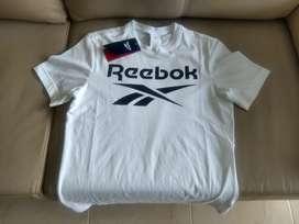 Reebok camiseta blanca