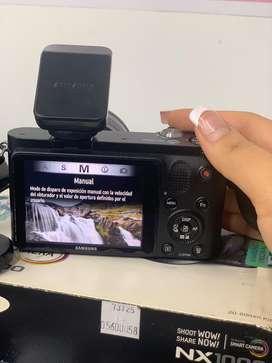 Cámara semi profesional Samsung NX1000