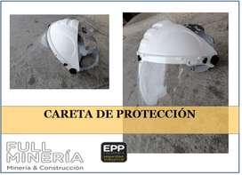 CARETA DE PROTECCIÓN PARA ESMERILAR