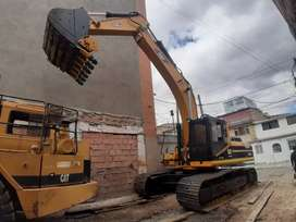 Excavadora Retroexcavadora Caterpillar 330 BL Motor Turbo Diesel