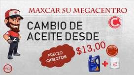 Galón y filtro de aceite Por $13.00 en Maxcar